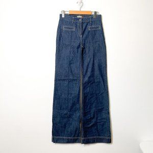 Wilfred Wide Leg High Waisted Retro Jeans